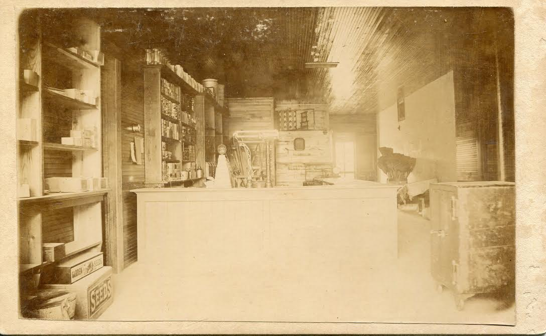Photo taken of the interior of the school store located in Westcott Building.