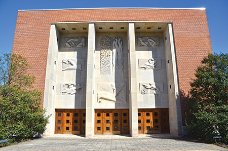 The Baltimore Hebrew Congregation was founded in 1830 and moved to this location in 1951. Photo: Jewish Times