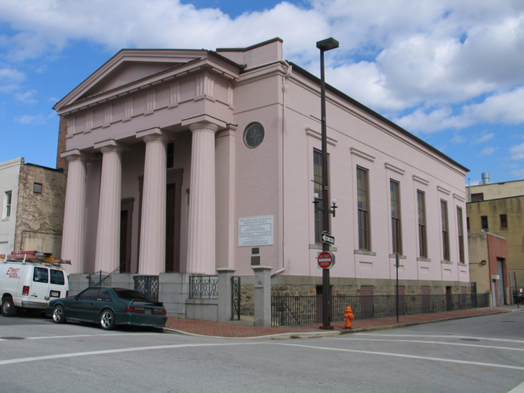 The former Lloyd Street synagogue, now the Jewish Museum of Maryland. Photo: Jewish Museum