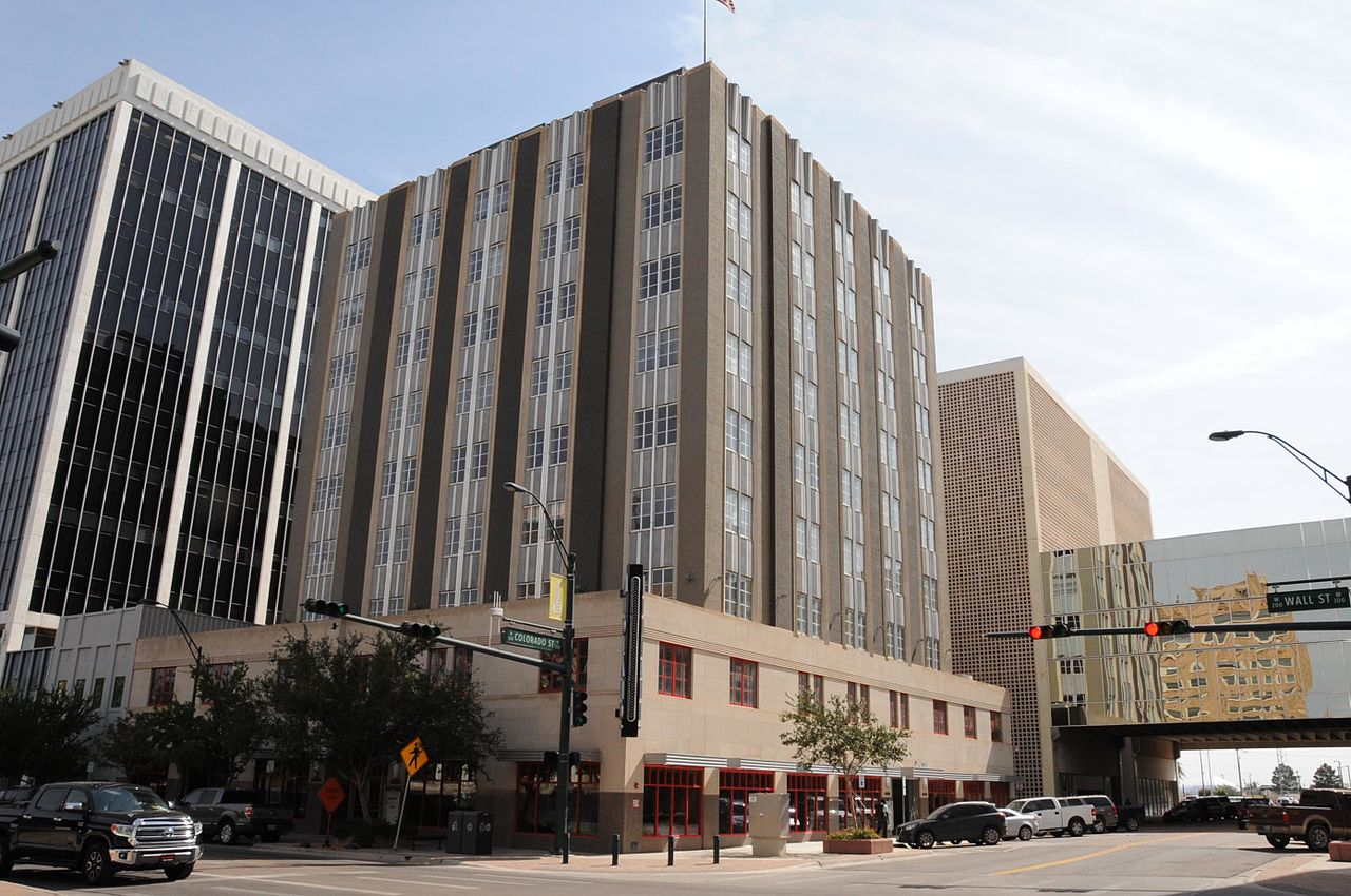 Midland Tower was built in 1948 to house offices for the oil industry.