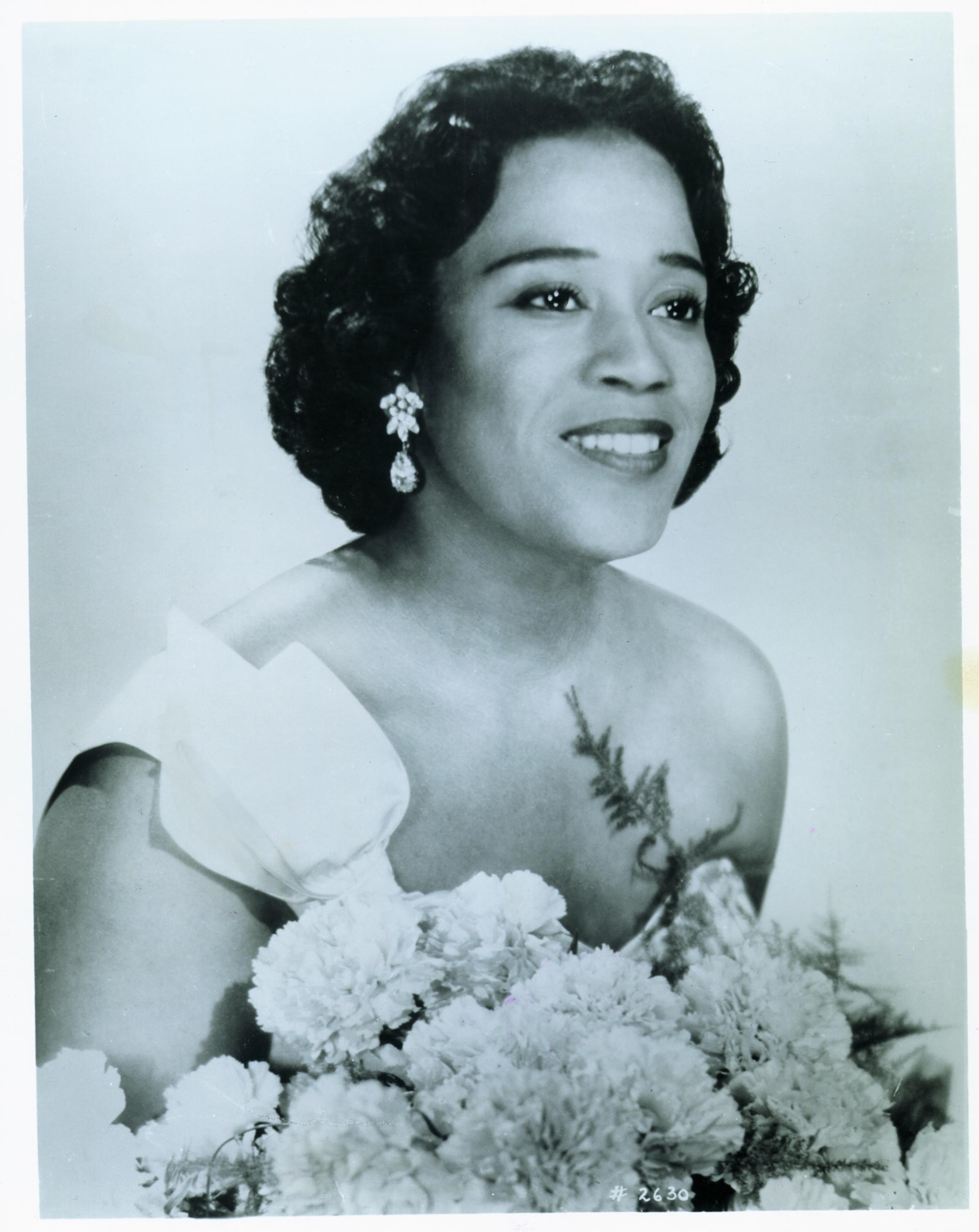 Photograph of Camilla Williams, courtesy of the Virginia Historical Society.