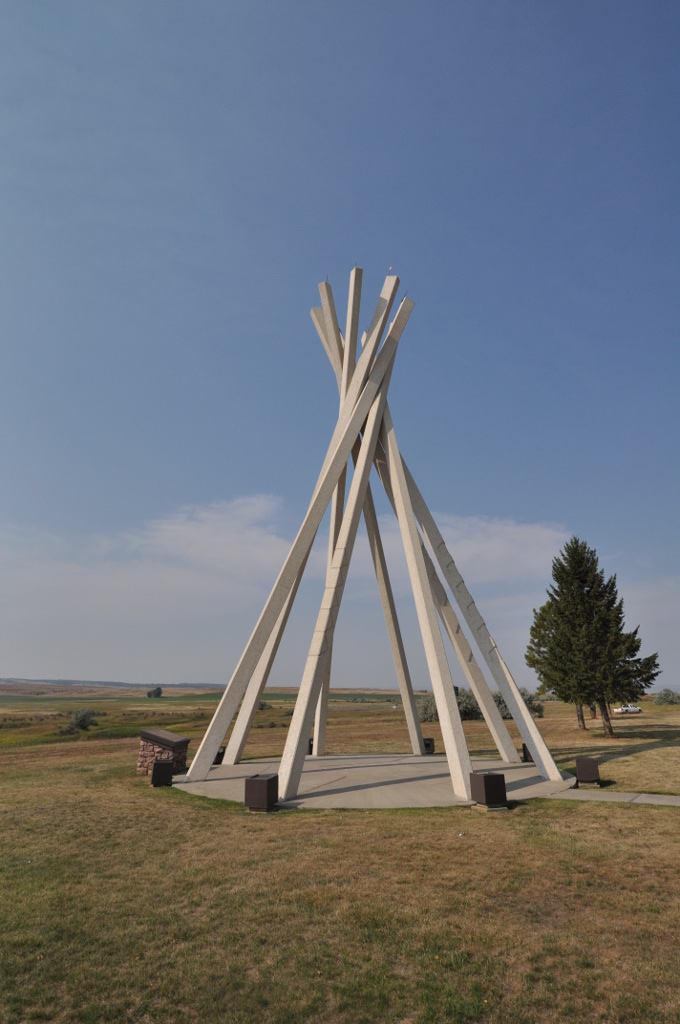 The Spearfish Rest Stop Tipi is one of several located in South Dakota.