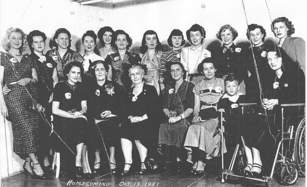 Reunion of residents, 1951