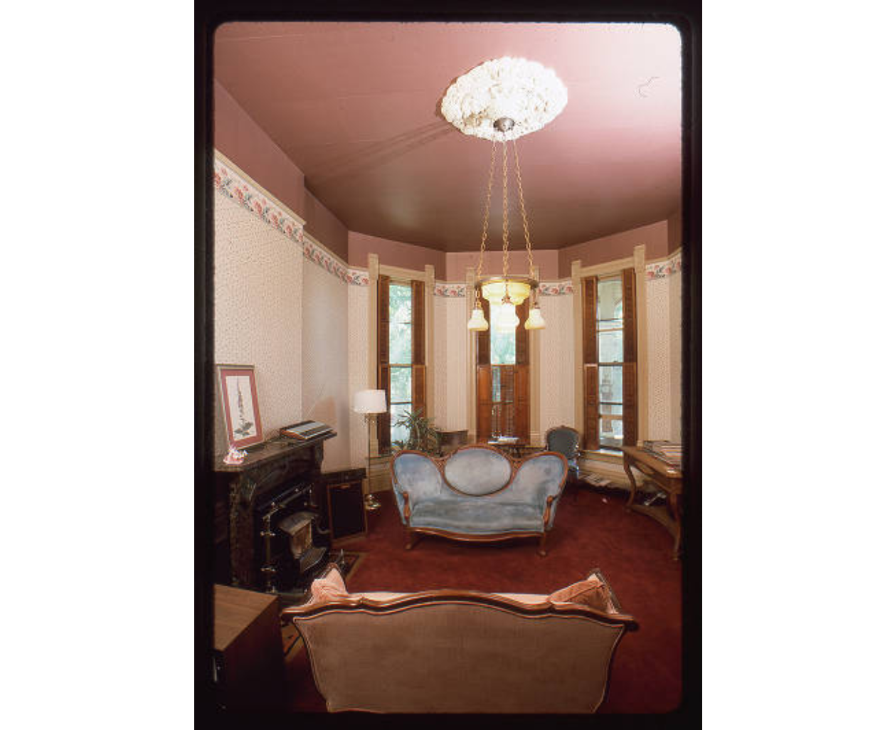 Parlour room of the Gebhard Mansion