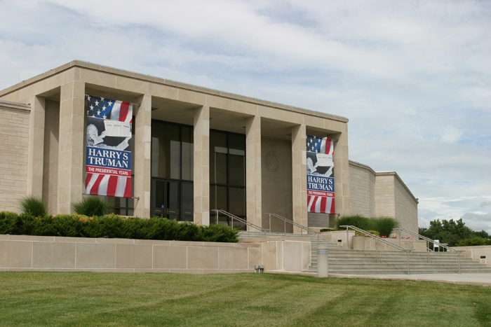 The Truman library first opened to the public in 1957.