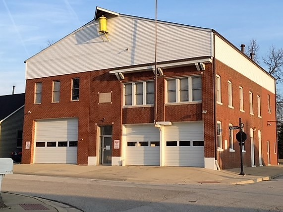 Old Firehouse, Police Dept. Village Hall=Maryville Heritage Museum!