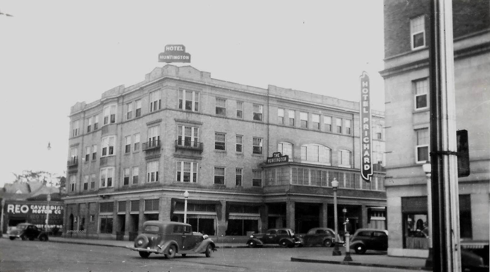 The Hotel Huntington in 1936