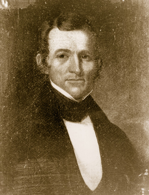 "19th century image of Colonial Daniel Reynolds, found at ""History of the Reynolds Mansion,"" The Reynolds Mansion Bed and Breakfast Inn, http://www.thereynoldsmansion.com/reynolds-mansion-history/"