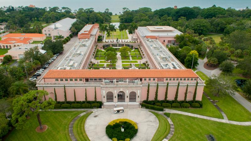 The John and Mable Ringling Museum of Art houses a world-renowned collection of 20th art.