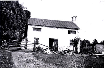 East view of the house ca. 1926