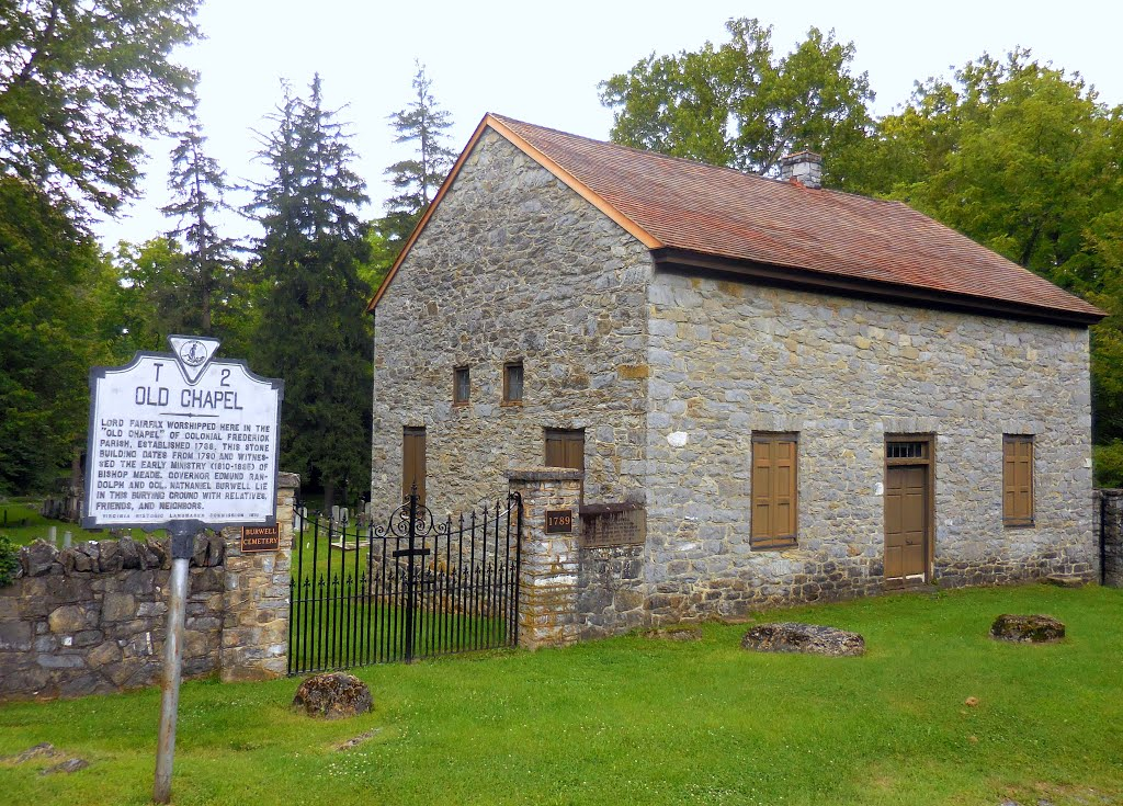 Old Chapel and its Historical Plaque