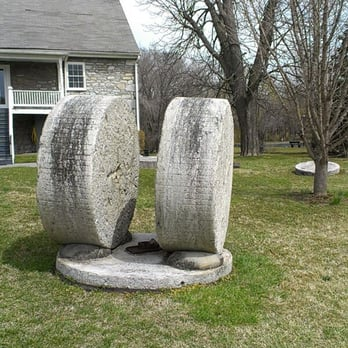 Collection of Mill Stones on the property