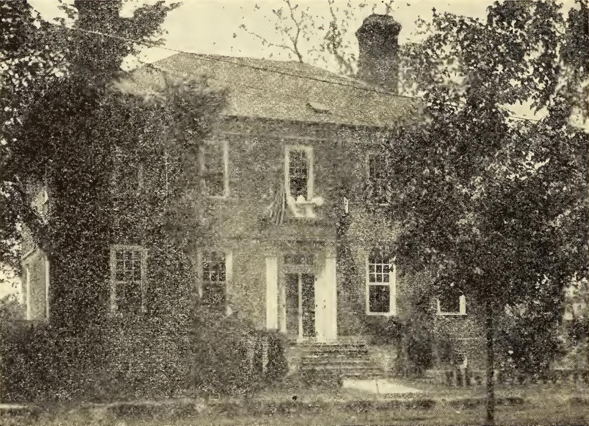 Wythe House, ca. 1930