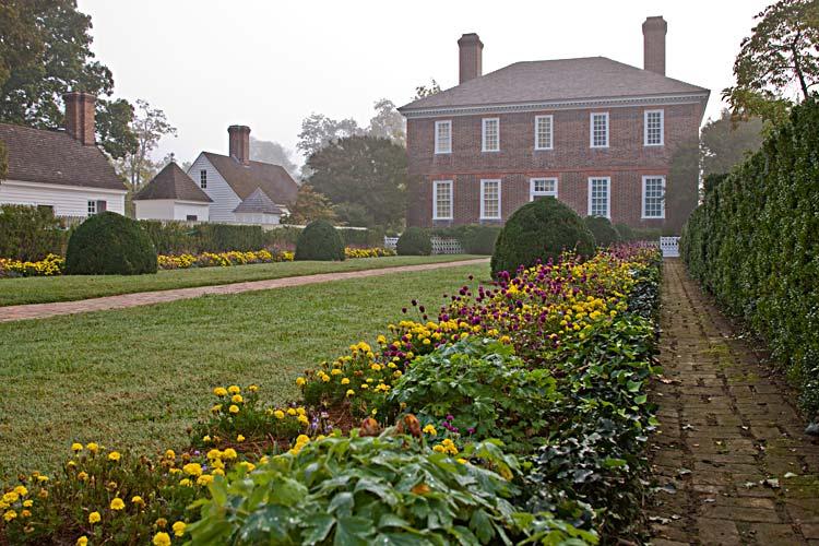 Wythe House Gardens