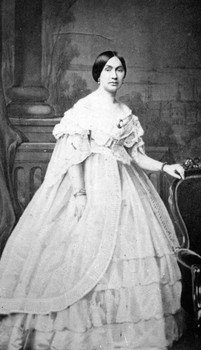Varina Anne Banks Howell Davis, second wife of Jefferson Davis and First Lady of the Confederate States of America.