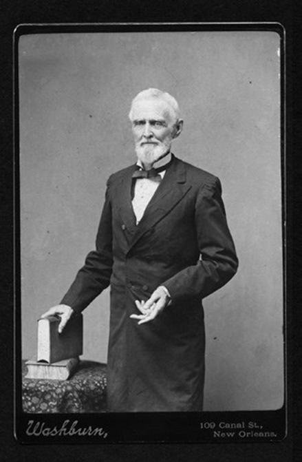 Jefferson Davis in his old age.