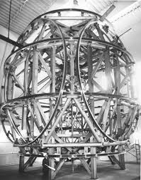 The coil system prior to being installed within the facility.