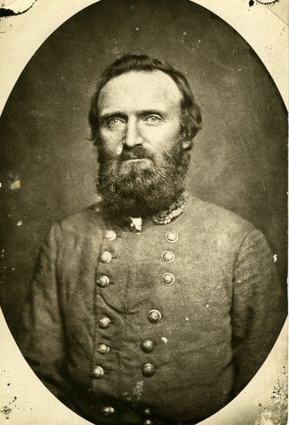 Stonewall Jackson in his Confederate Army uniform.