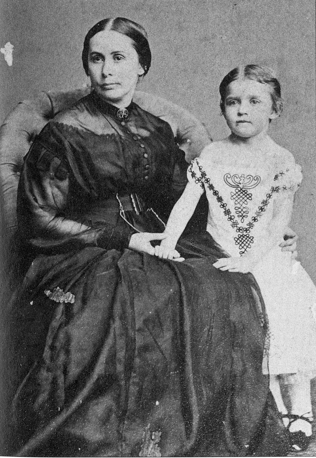 Mary Anna and Julia Laura Jackson.