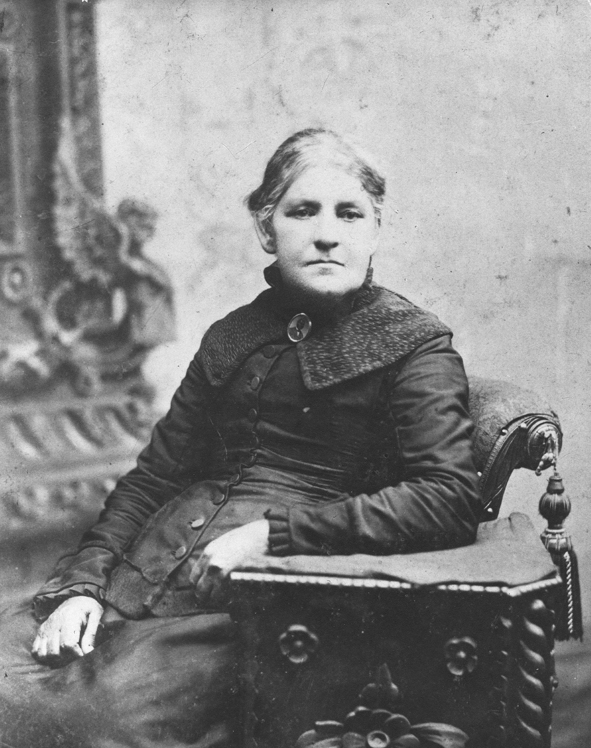 Photograph of Lucy Goode Brooks, courtesy of the Friends' Association for Children