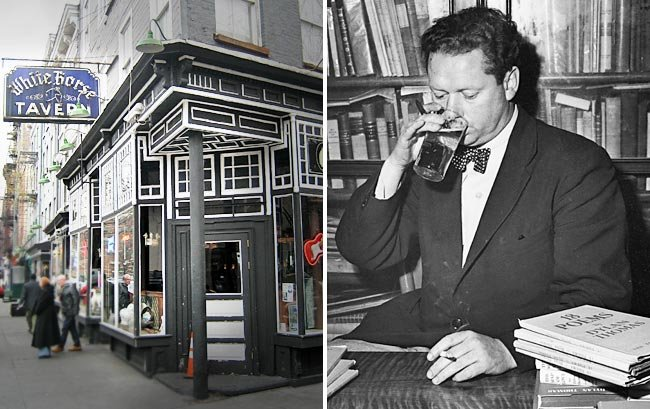 The tavern and Dylan Thomas