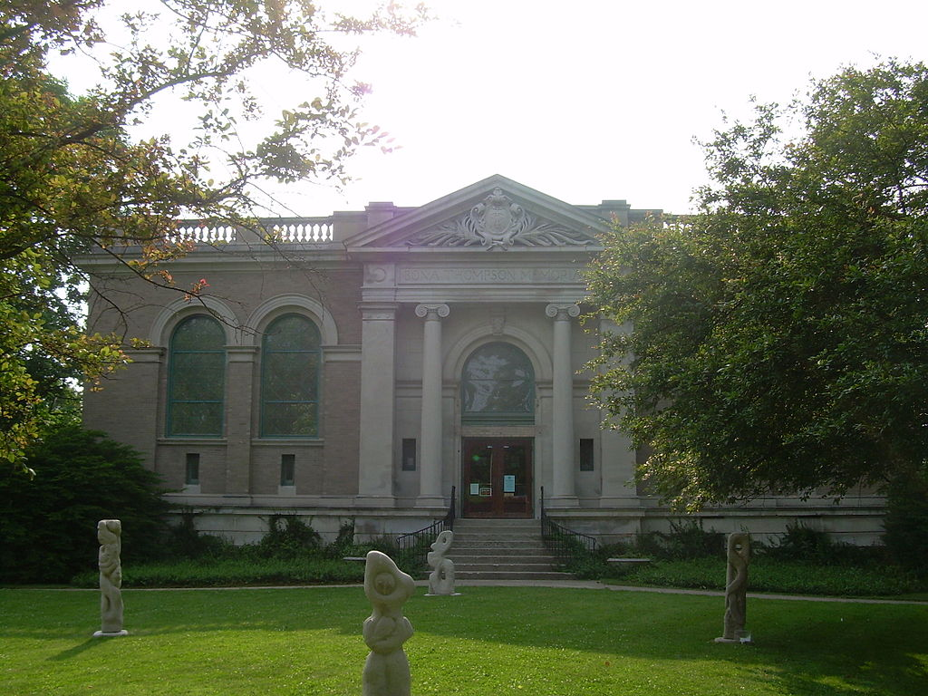 The Irvington Historical Society is located in the Bona Thompson Memorial Library, the last remaining building of the old Butler University campus