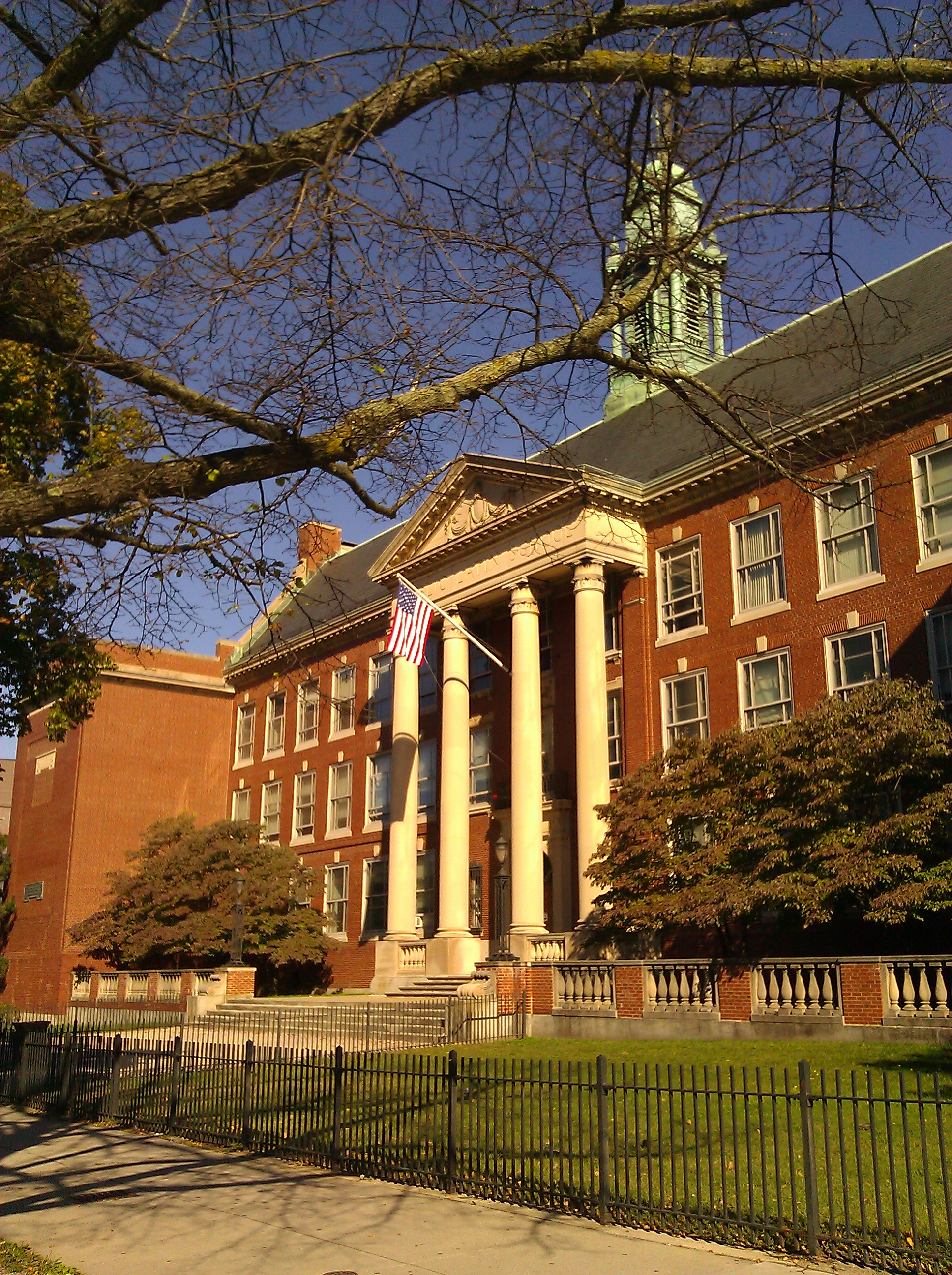 The modern location of the Boston Latin School.