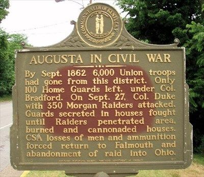 The Battle of Augusta Marker