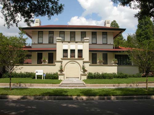 Constructed in 1916, this historic home was built for cigar box manufacturer Henry Leiman.