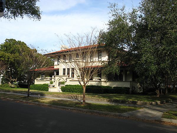 The Leiman House of Tampa, Florida.