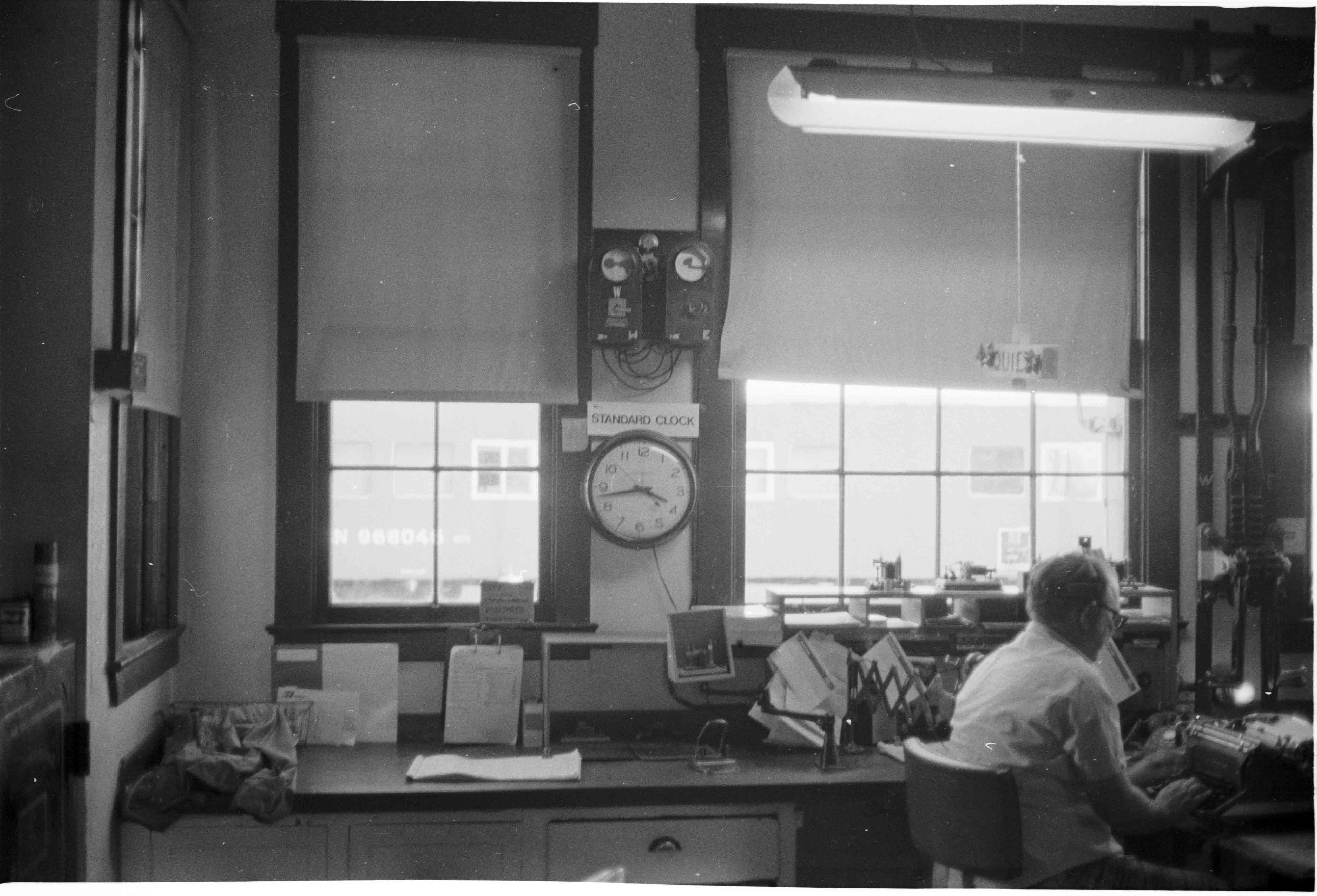 Operations center. Photograph courtesy of Charles V. Mutschler
