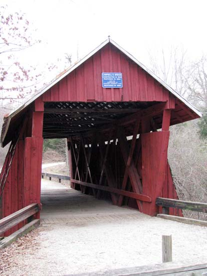 Back side of bridge