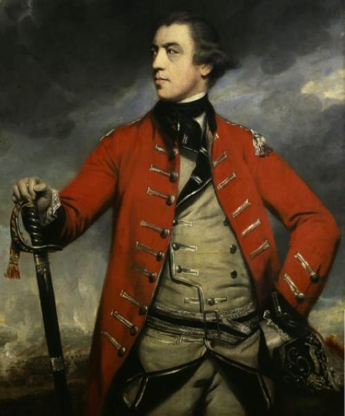 "General John ""Gentleman Johnny"" Burgoyne, commander of the British Forces"