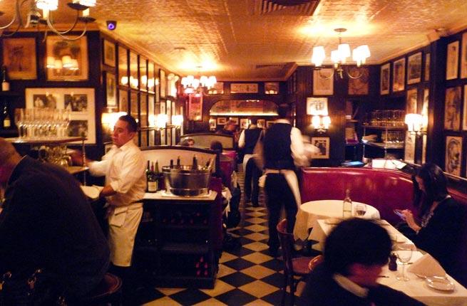 Minetta Tavern interior