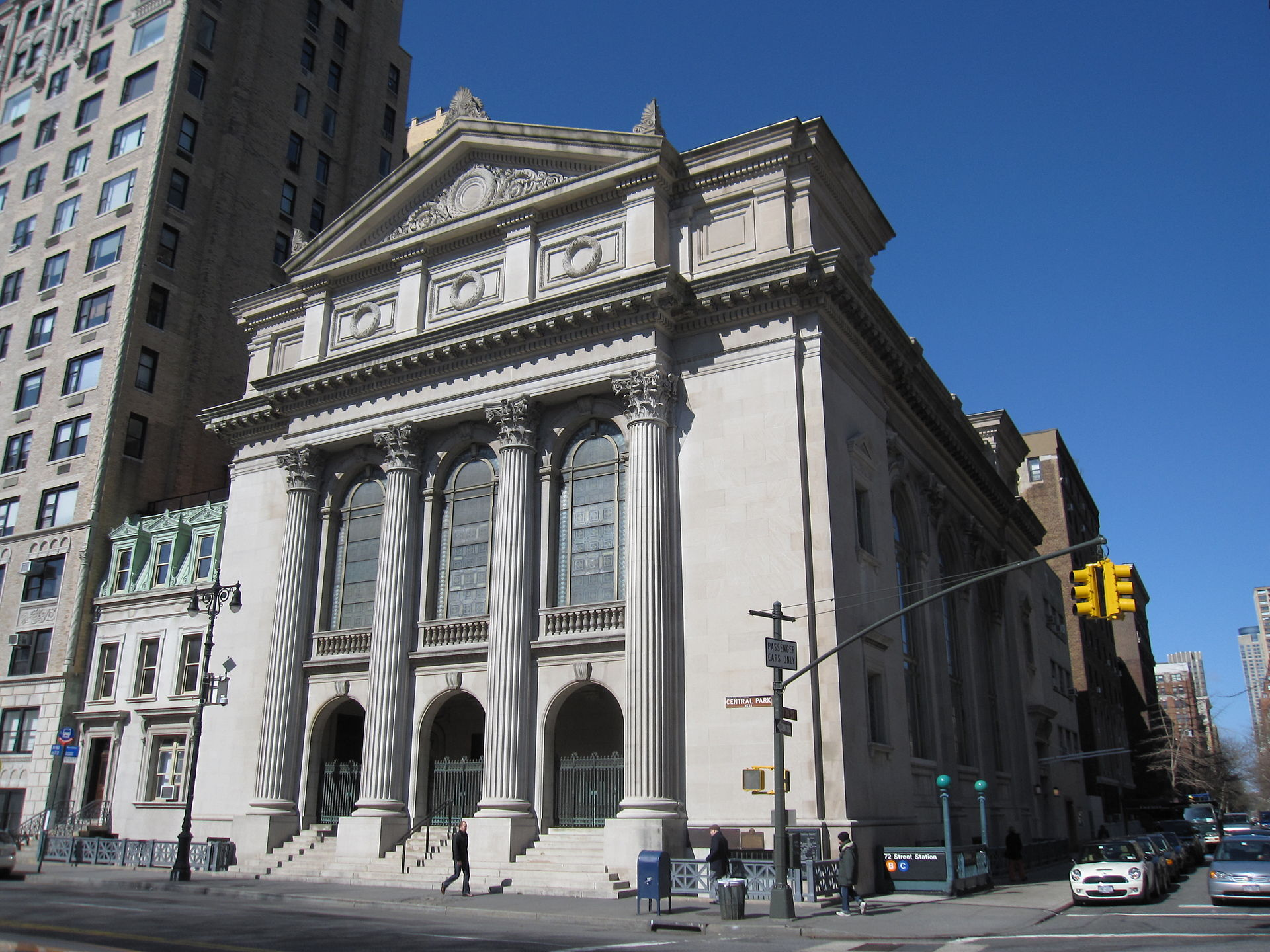 Established in 1654, Congregation Shearith Israel is the oldest congregation in North America. It built this temple in 1897. Photo: Wikimedia Commons