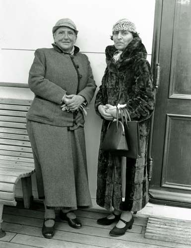 Gertrude Stein and Alice B. Toklas in 1934