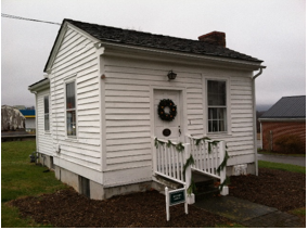 Dr. Johnston's Office, which was used as Union headquarters in 1862