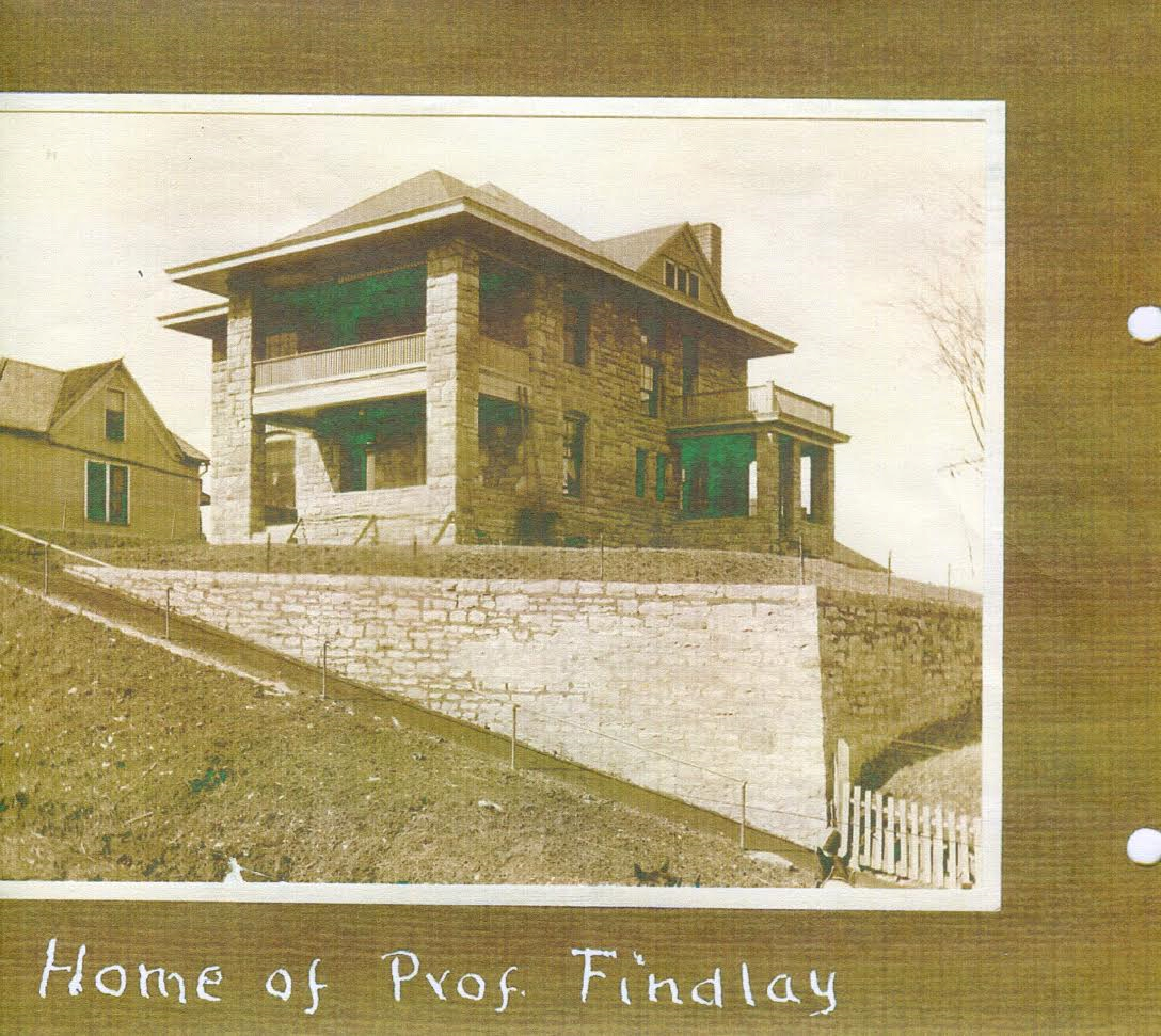 Home of Professor Findley.