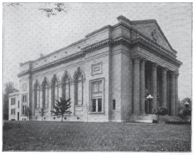 This is the 1906 Rockdale Temple that is now demolished.