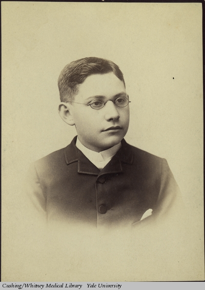 Mendel in his youth, c. 1887 (Harvey Cushing/John Hay Whitney Medical Library)
