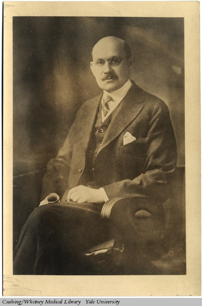 "Mendel, a ""Yale man"" his entire life (Harvey Cushing/John Hay Whitney Medical Library)"