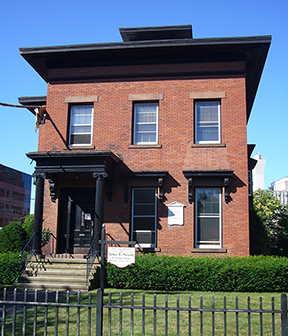 Lafayette Mendel House, New Haven (Walk New Haven)