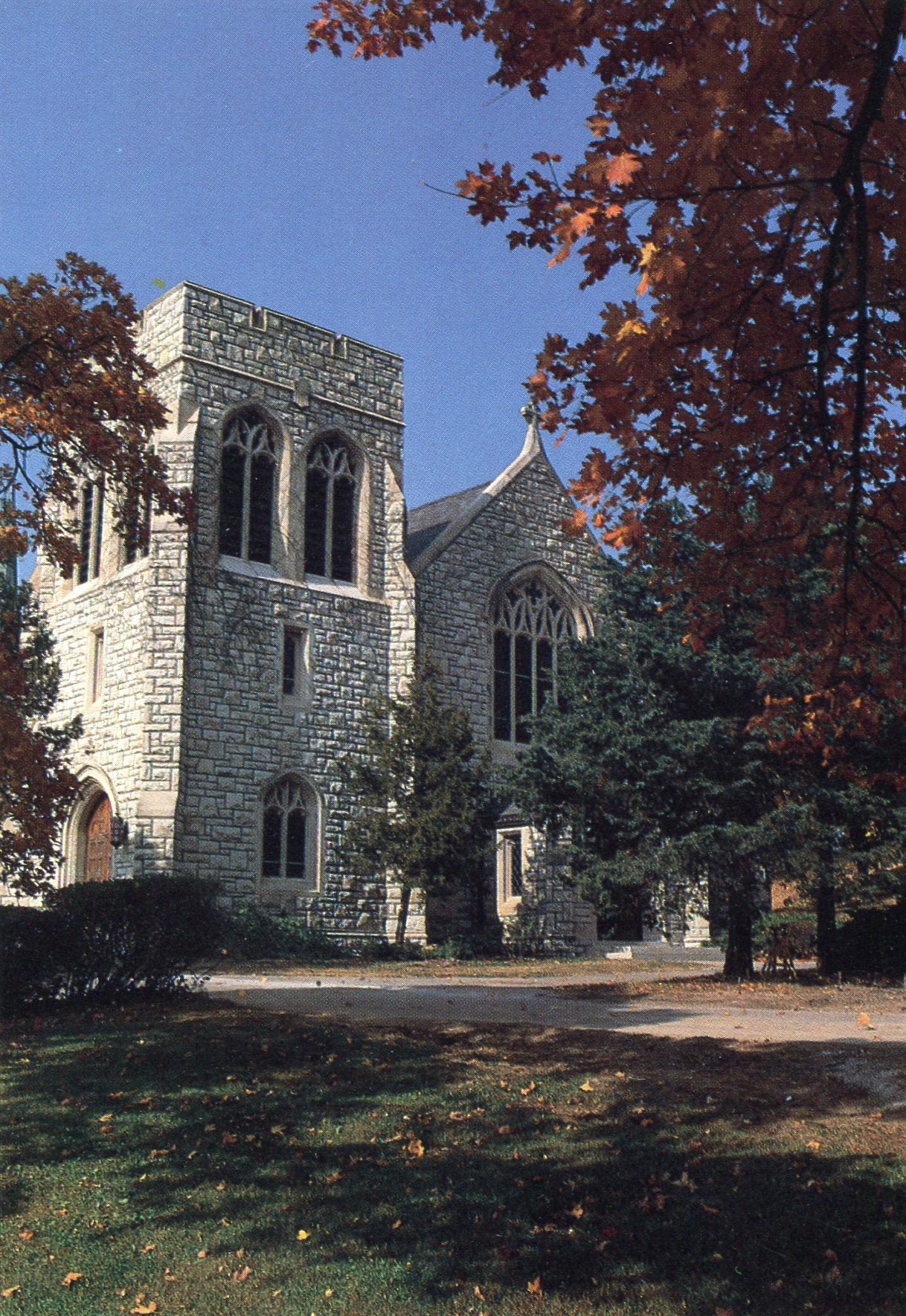 The Graham Tyler Chapel as it looks currently.