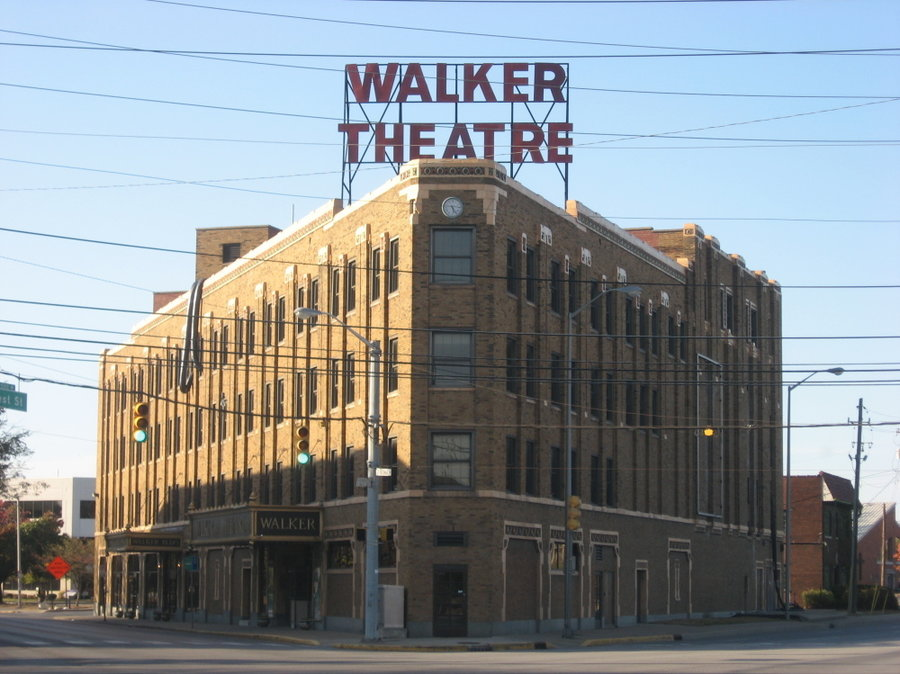 The Walker Theater on Indiana Avenue