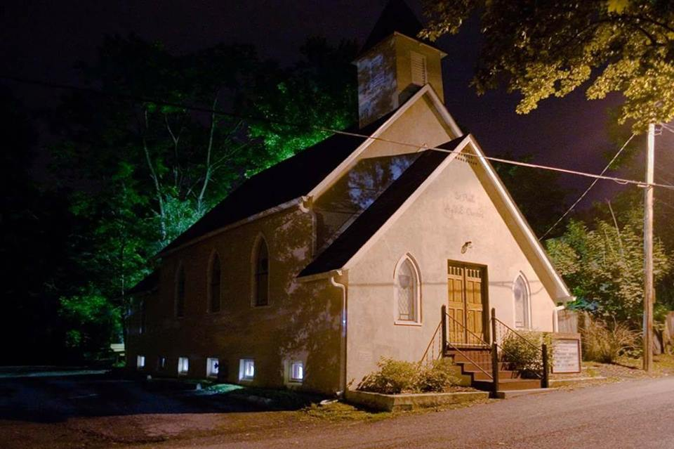 St Paul AME chapel was constructed in 1901 and replaced a wood frame building at this location that was built in the years that followed the Civil War.
