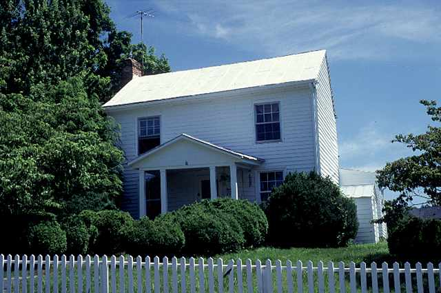 A saddlemaker built this home in the 1840s, selecting a location near the Scout Spring.