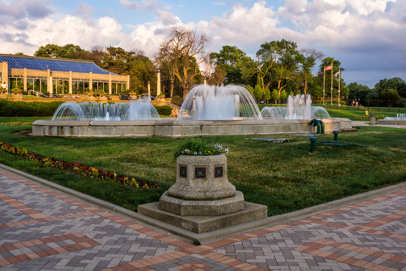 The Conservatory and Sunken Gardens are just two of Garfield Park's popular attractions.