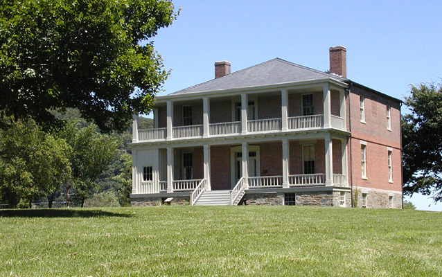 Lockwood House today with its restored exterior. Image obtained from the National Park Service.
