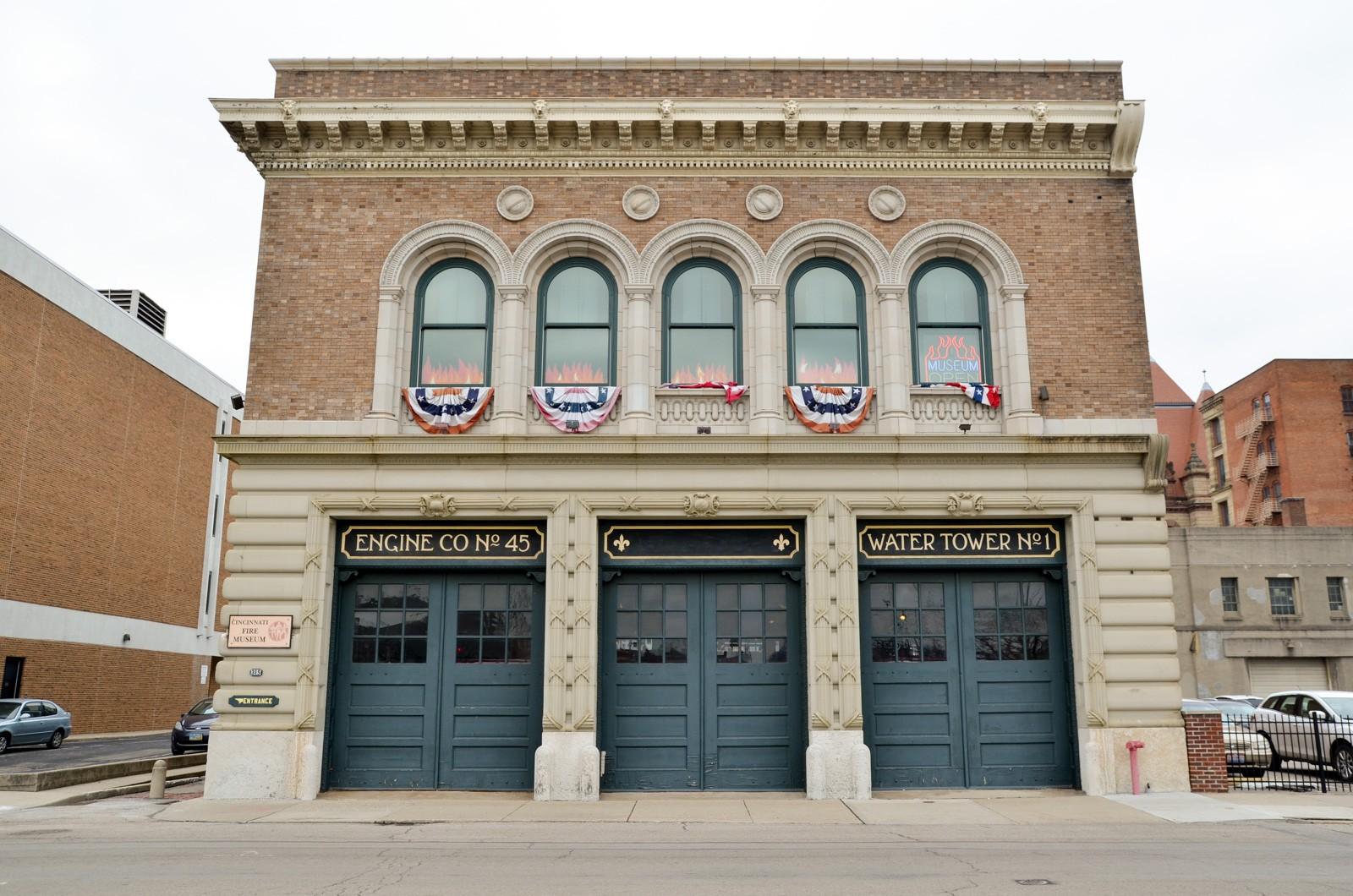 The Cincinnati Fire Museum opened in 1980 in a restored ca. 1906 firehouse.