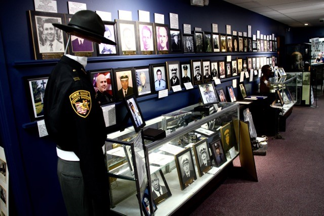 View inside the museum of law enforcement officers who served in the greater Cincinnati region.